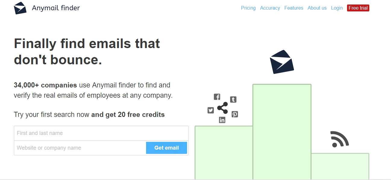 Find Anyone's Email Address:9 Tools To Find Emails With Precision and Accuracy 13