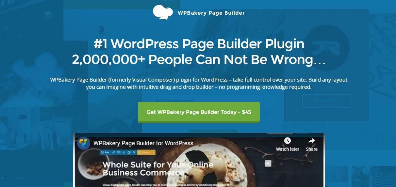 wordpress visual page builder