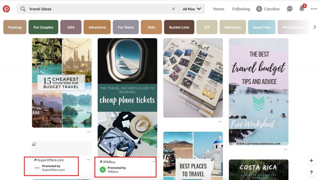 Pinterest ad spy tools - see what you competitors are doing